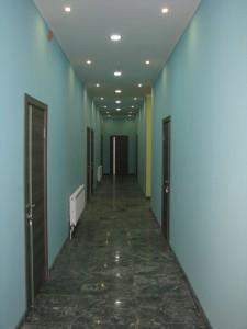 Коридор нового корпуса гостиницы